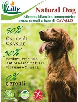 CROCCHETTE NATURAL DOG - GRAIN FREE CAVALLO E PATATE