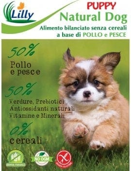 CROCCHETTE NATURAL DOG - GRAIN FREE PUPPY POLLO E PESCE
