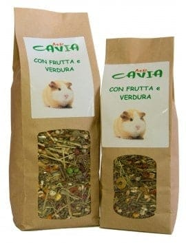 MR CAVIA CON FRUTTA E VERDURA