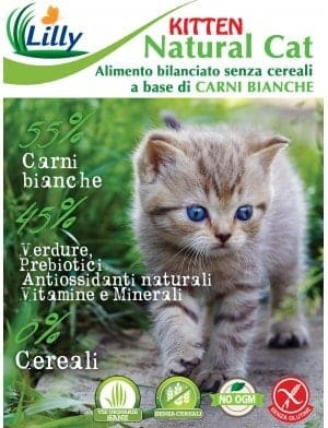 NATURAL CAT - GRAIN FREE KITTEN CARNI BIANCHE