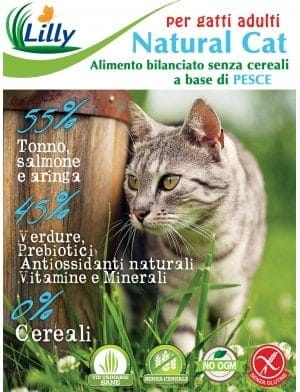 NATURAL CAT - ADULTO GRAIN FREE PESCE