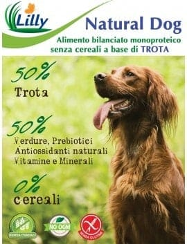 NATURAL DOG - GRAIN FREE TROTA 10kg