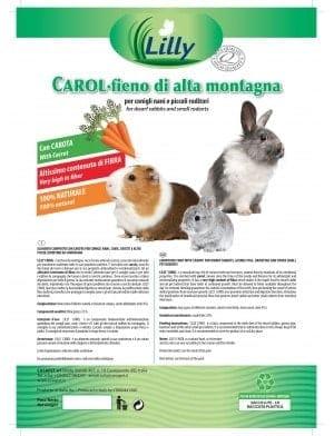 CAROL fieno di montagna con carota 500g