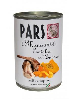 PARS MONOPATE' CONIGLIO E ZUCCA